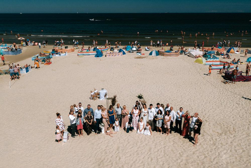 ślub na plaży Świnoujście
